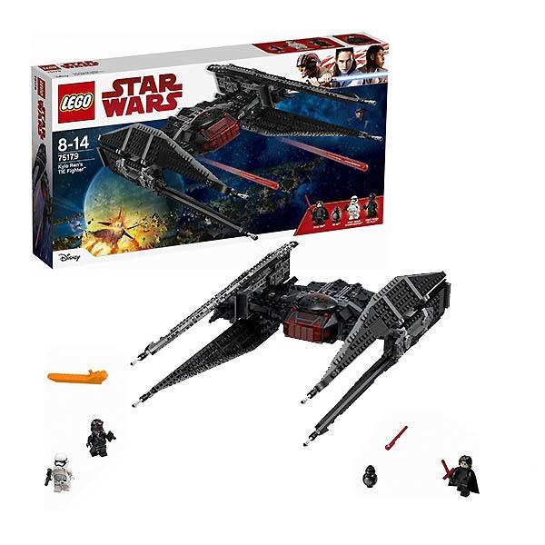 Lego Star Wars 75179 Конструктор Лего Звездные Войны Истребитель СИД Кайло Рена lego 75104 командный шаттл кайло рена