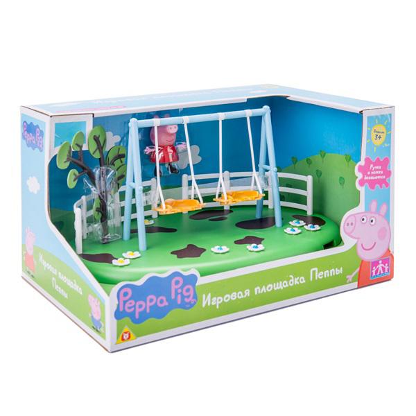 """Peppa Pig 28776 Свинка Пеппа Игровой набор """"Игровая площадка Качели Пеппы"""""""