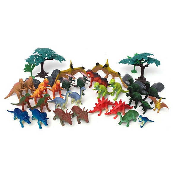Boley 75232 Игровой набор Динозавры, 40 предметов boley игровой набор из 3 х предметов серия софия прекрасная 82527