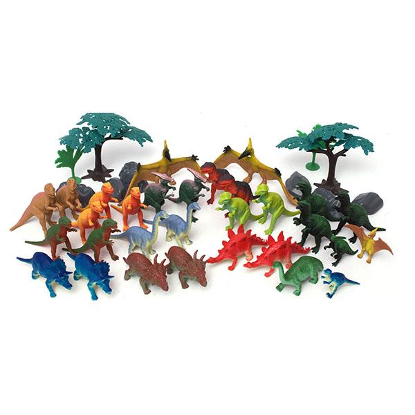 Boley 75232 Игровой набор Динозавры, 40 предметов