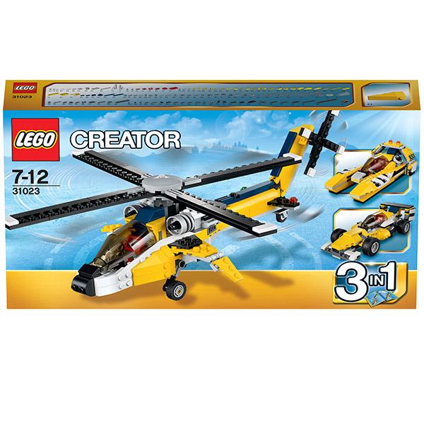 Конструктор Лего Криэйтор 31023 Жёлтый скоростной вертолет