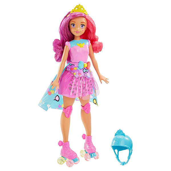Mattel Barbie DTW00 Барби Кукла Повтори цвета из серии   виртуальный мир