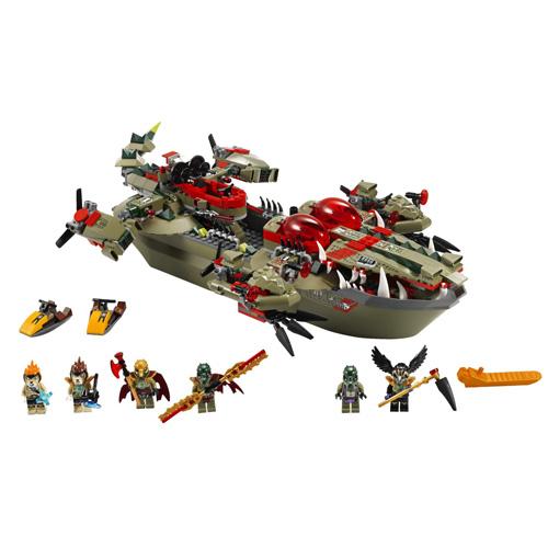 Lego Легенды Чима 70006 Флагманский корабль Краггера
