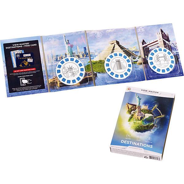 """цены Mattel View Master DLL69 Набор визуализации """"Достопримечательности"""""""