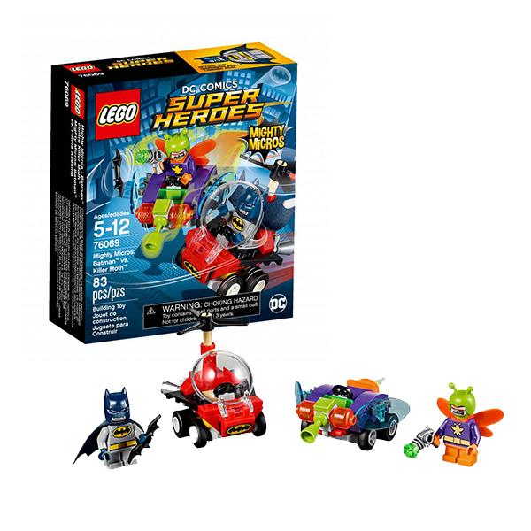 Lego Super Heroes Mighty Micros 76069 Лего Супер Герои Бэтмен против Мотылька-убийцы lego lego super heroes mighty micro бэтмен против мотылька убийцы