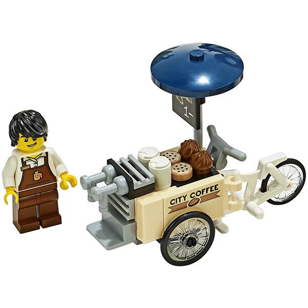 LEGO City 60233 Конструктор ЛЕГО Открытие магазина по продаже пончиков