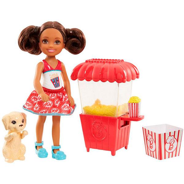 Mattel Barbie FHP68 Барби Челси и щенок mattel barbie барби с летающим котом попкорном