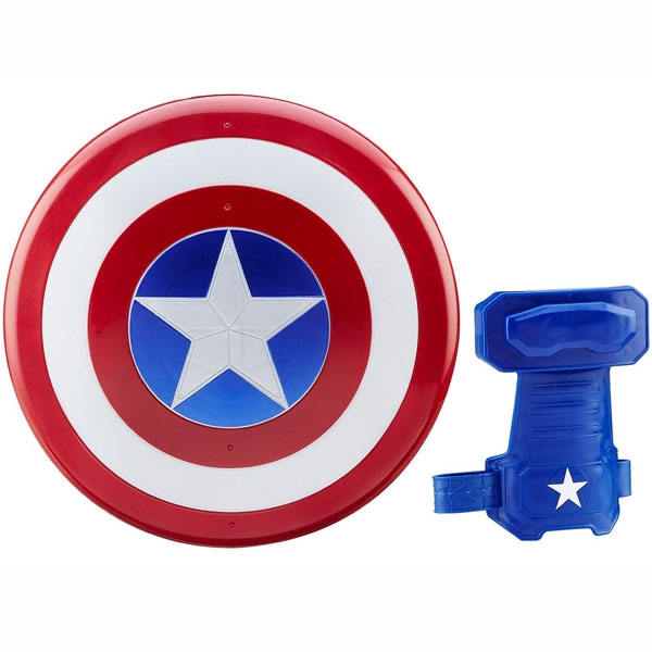 Hasbro Avengers B9944 Щит и перчатка Первого Мстителя hasbro play doh игровой набор из 3 цветов цвета в ассортименте с 2 лет