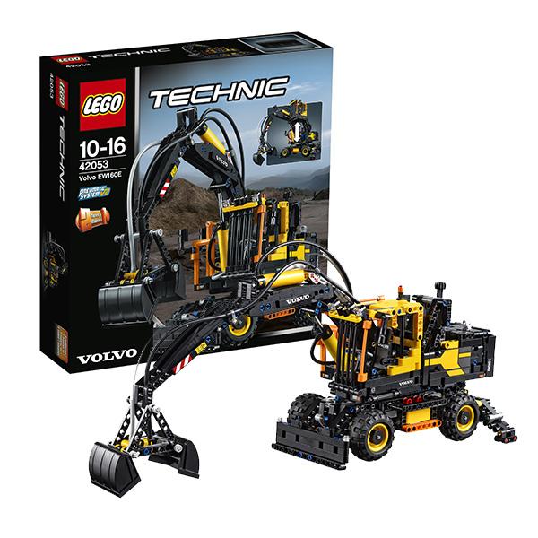 Lego Technic 42053_9 Лего Техник Экскаватор Volvo EW 160E