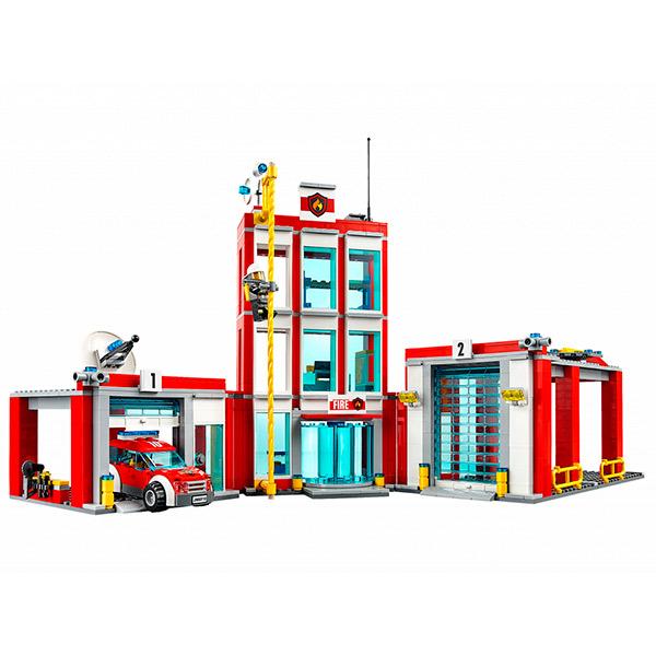 Lego City 60110 Конструктор Лего Город Пожарная часть