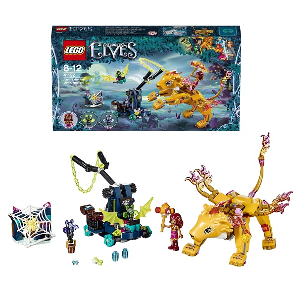 Lego Elves 41192 Конструктор Лего Эльфы Ловушка для Азари и огненного льва anime undertale sans cartoon wallet rick and morty pickle rick purse harry potter phone bag credit card bag long style wallet