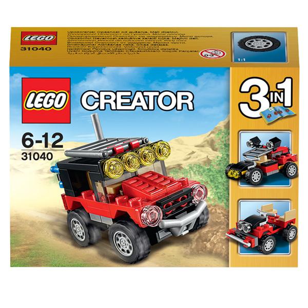 Конструктор Lego Creator 31040 Конструктор Гонки в пустыне