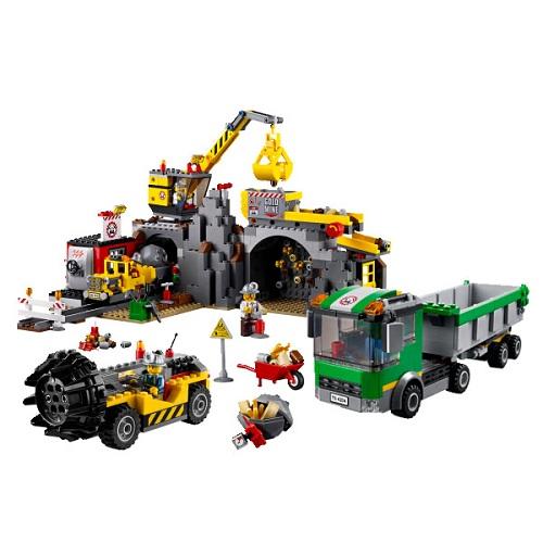 Lego City 4204_1 Конструктор Лего Город Шахта