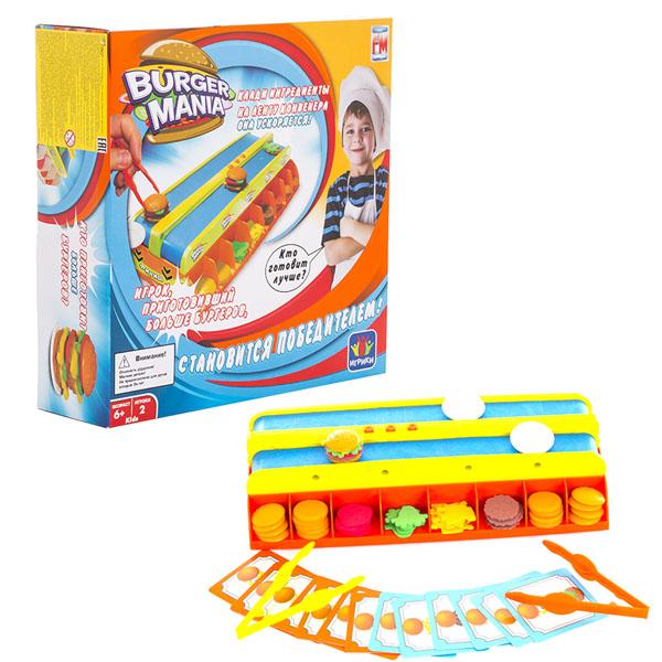 Fotorama 839 Фоторама Настольная интерактивная игра Burger Mania