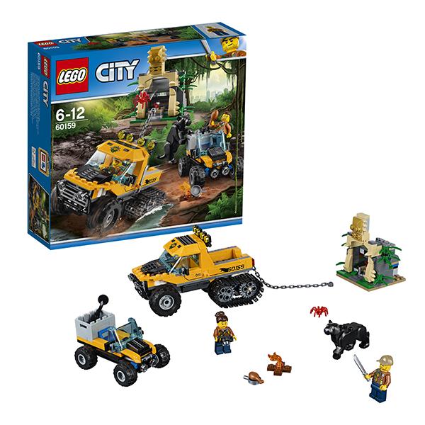 Lego City 60159 Конструктор Лего Город Миссия Исследование джунглей