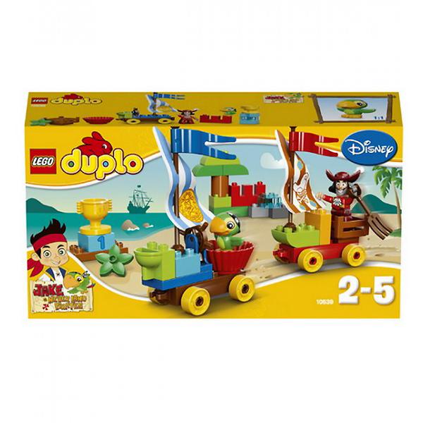 Конструктор Lego Duplo 10539 Лего Дупло Джейк Гонки на пляже