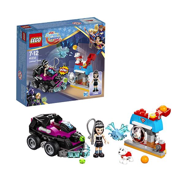 Lego Super Hero Girls 41233 Лего Супергёрлз Танк Лашины велосипед navigator super hero girls 18 разноцветный двухколёсный