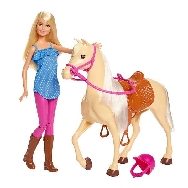 купить Mattel Barbie FXH13 Барби и лошадь онлайн