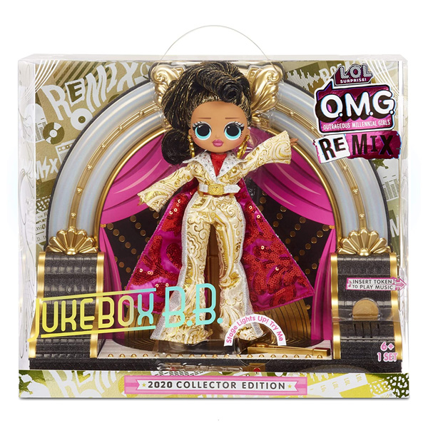 L.O.L. Surprise 569886 O.M.G. Remix 2020 Jukebox B.B с музыкой