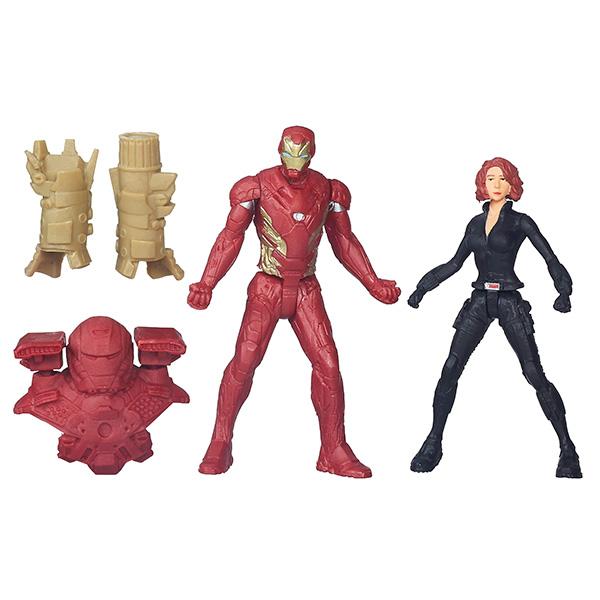Hasbro Avengers B5768 Игровой набор из 2 фигурок Мстителей (в ассортименте)