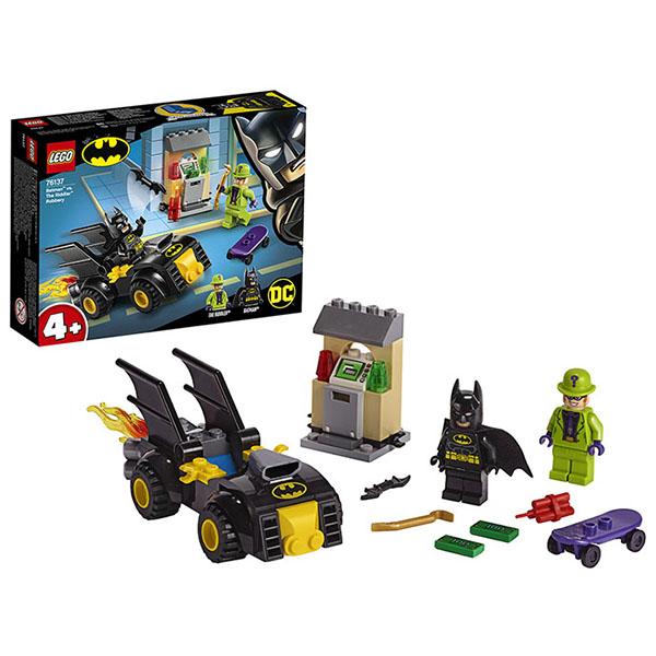 LEGO Super Heroes 76137 Конструктор ЛЕГО Супер Герои Бэтмен и ограбление Загадочника lego super heroes 76119 конструктор лего супер герои бэтмобиль погоня за джокером
