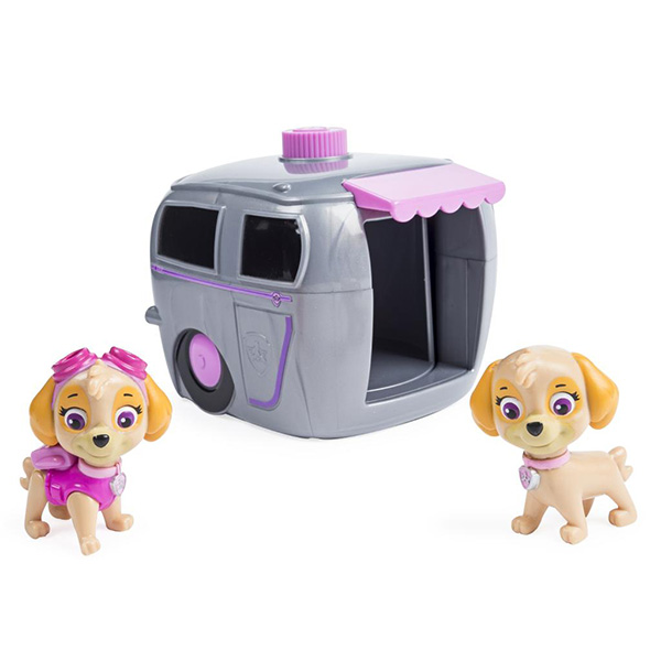 Paw Patrol 16660-Sky Щенячий патруль Игровой набор два щенка в домике мешок для обуви paw patrol для девочки
