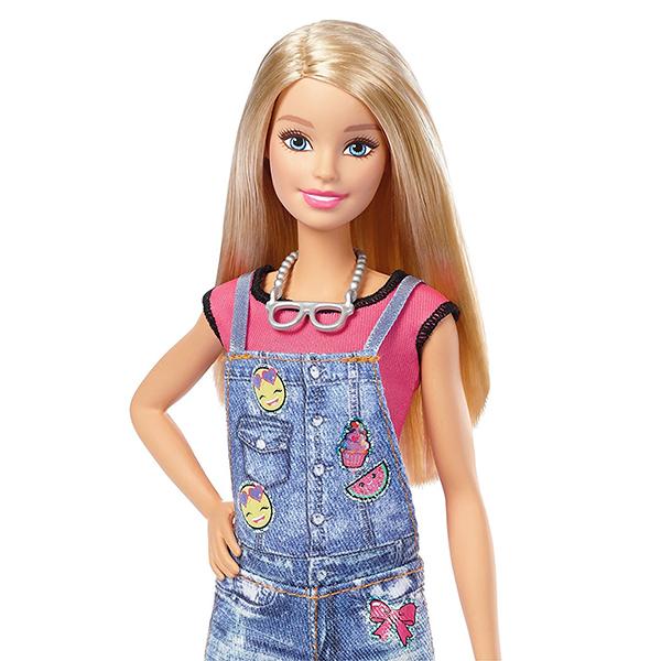 "Mattel Barbie DYN93 Барби Игровой набор ""Эмоджи"""