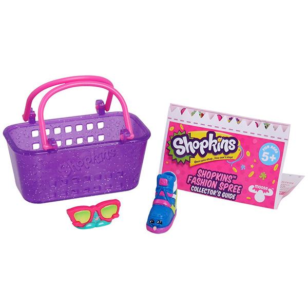 Shopkins 56175 Шопкинс 2 шт. в корзиночке - фешн (дисплей 30 шт)