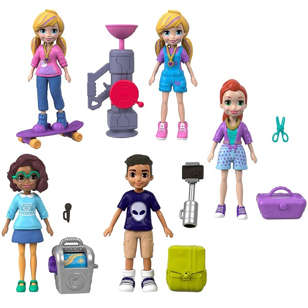 Mattel Polly Pocket FTP67 Маленькие куклы (в ассортименте) mattel polly pocket ftp67 маленькие куклы в ассортименте