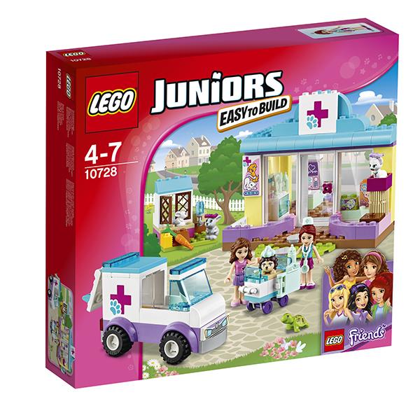 Lego Juniors 10728 Лего Джуниорс Ветеринарная клиника Мии