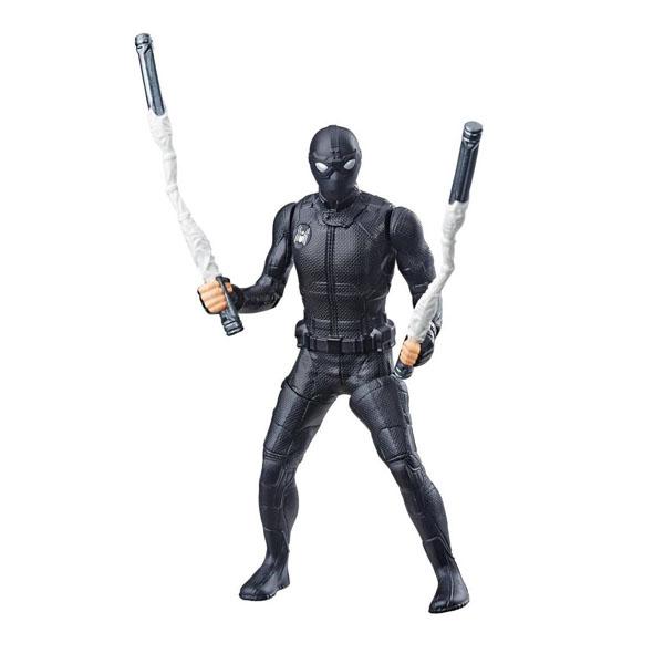 Фото - Hasbro Spider-Man E3547/E4117 Фигурка Человек-Паук 15 см делюкс Веб удар фигурка железный человек режим сражения hasbro e0560