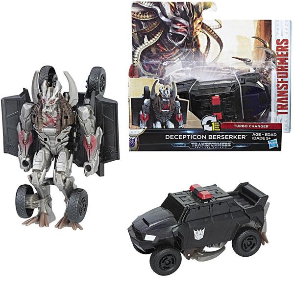 Hasbro Transformers C0884/C2823 Трансформеры 5: Уан-степ Десептикон Берсеркер hasbro transformers c0889 c1328 трансформеры 5 последний рыцарь легион гримлок