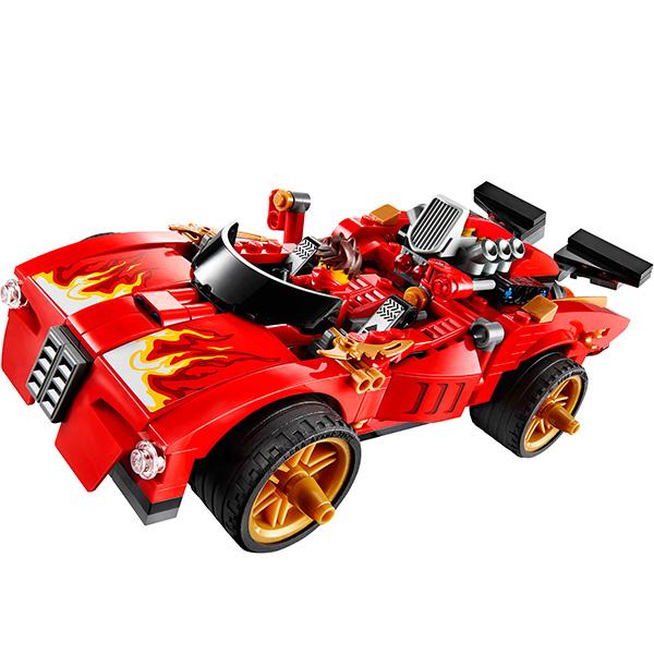 Lego Ninjago 70727 Конструктор Лего Ниндзяго Ниндзя-перехватчик Х-1
