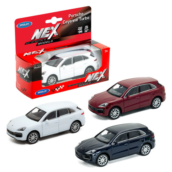Welly 43773 Велли Модель машины 1:34-39 Porsche Cayenne Turbo, 1:38 welly porsche cayenne turbo