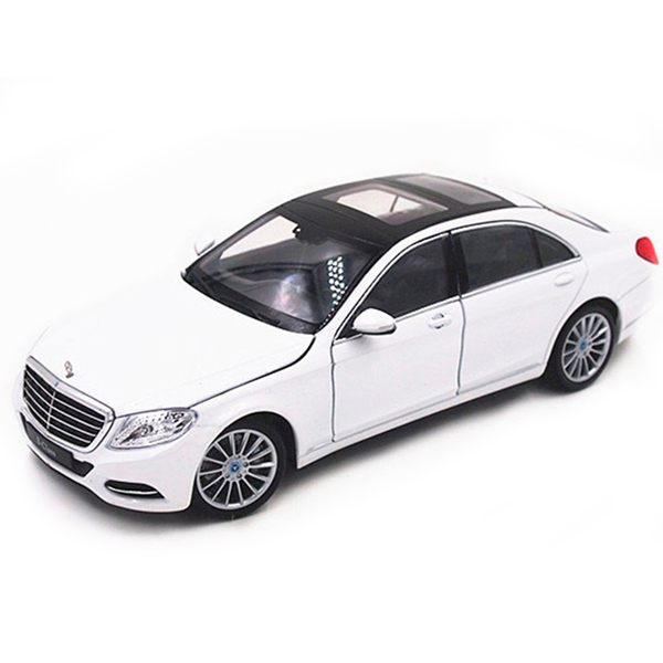 Welly 24051 Велли Модель машины 1:24 Mercedes-Benz S-Class 2 x t10 led w5w canbus car side parking light bulbs with projector lens for mercedes benz c250 c300 e350 e550 ml550 r320 r350