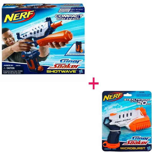 Hasbro Nerf A2279H_1 Нерф Набор водных бластеров