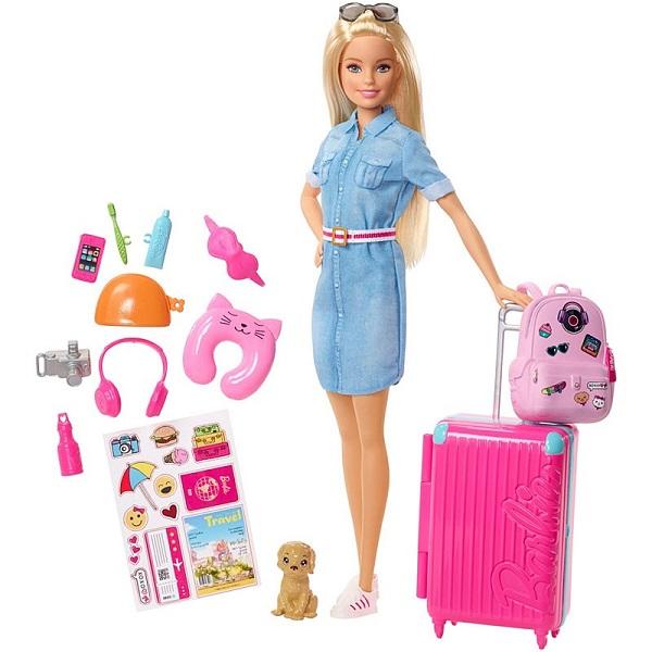 Mattel Barbie FWV25 Барби Кукла из серии Путешествия цена 2017