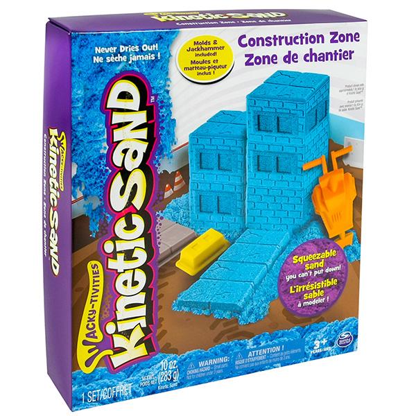 Kinetic sand 71417-const Кинетик сэнд Игровой набор c формочками, 285 г