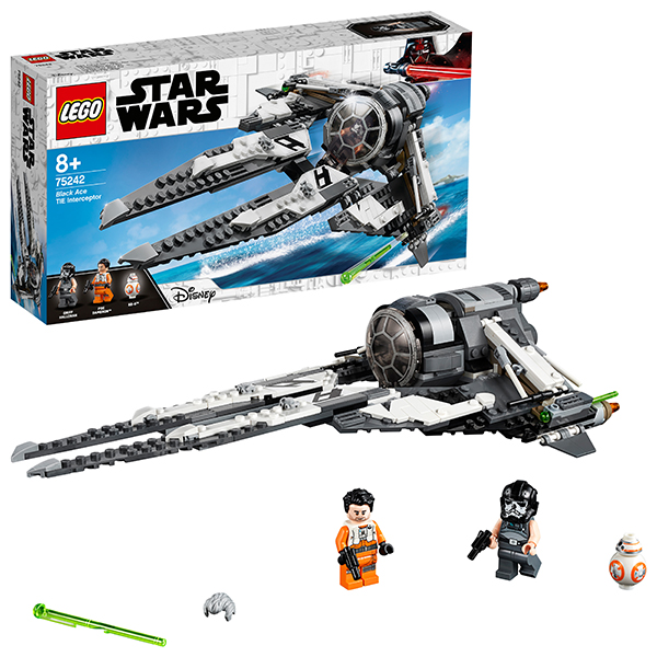 LEGO Star Wars 75242 Конструктор ЛЕГО Звездные Войны СИД Перехватчик Чёрный АС цена