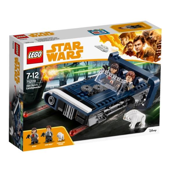 Lego Star Wars 75209 Конструктор Лего Звездные Войны Спидер Хана Cоло