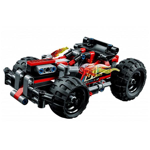 Лего Техник 42073 Конструктор Красный гоночный автомобиль