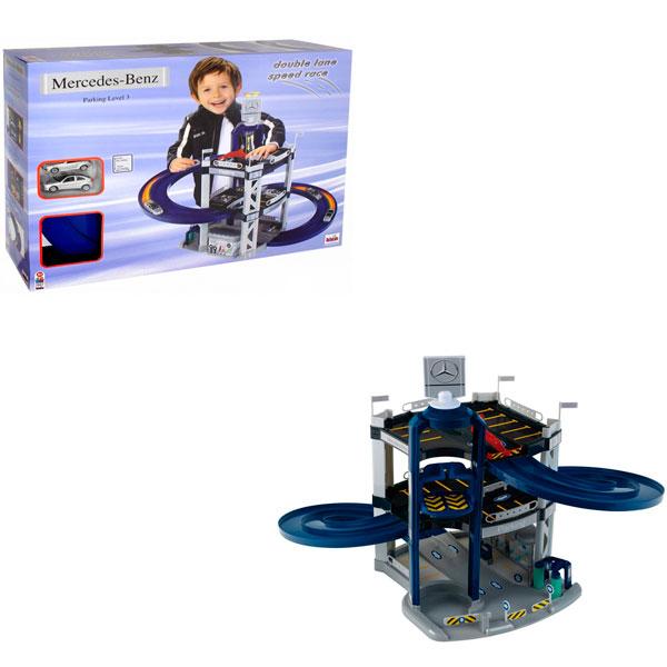 Klein 2887 Игровой набор Парковка Mercedes 3 уровней