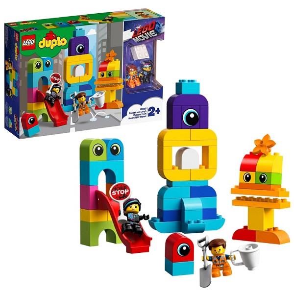 LEGO DUPLO 10895 Конструктор ЛЕГО ДУПЛО The LEGO Movie 2: Пришельцы с планеты DUPLO lego duplo 10908 конструктор лего дупло самолёт