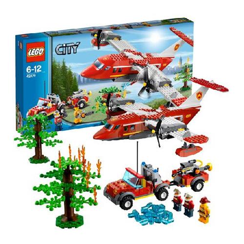 Lego City 4209_1 Конструктор Лего Город Пожарный самолёт