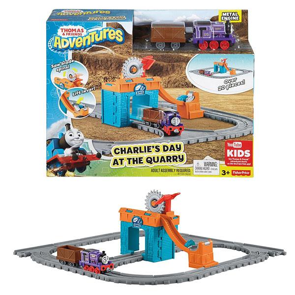 """Mattel Thomas & Friends FBC59 Томас и друзья Игровой набор """"Паровозик Чарли за работой"""""""