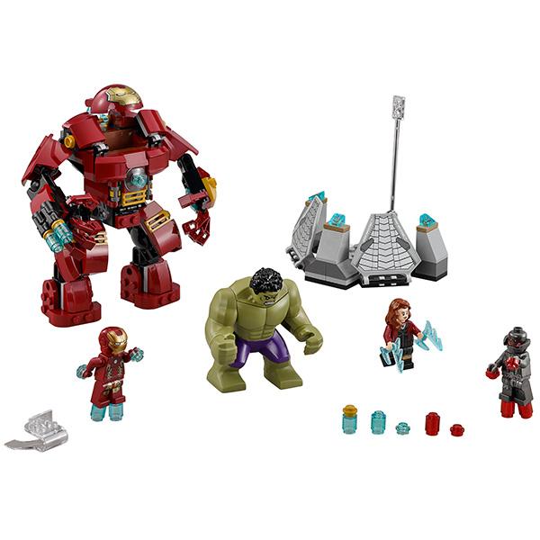 Lego Super Heroes 76031 Конструктор Лего Супер Герои Разгром Халкбастера