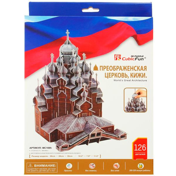 Cubic Fun MC169h Кубик Фан Преображенская церковь,Кижи (Россия)