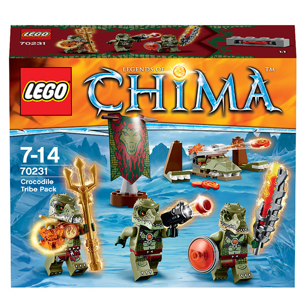 Лего Legends of Chima 70231 Конструктор Лагерь клана Крокодилов