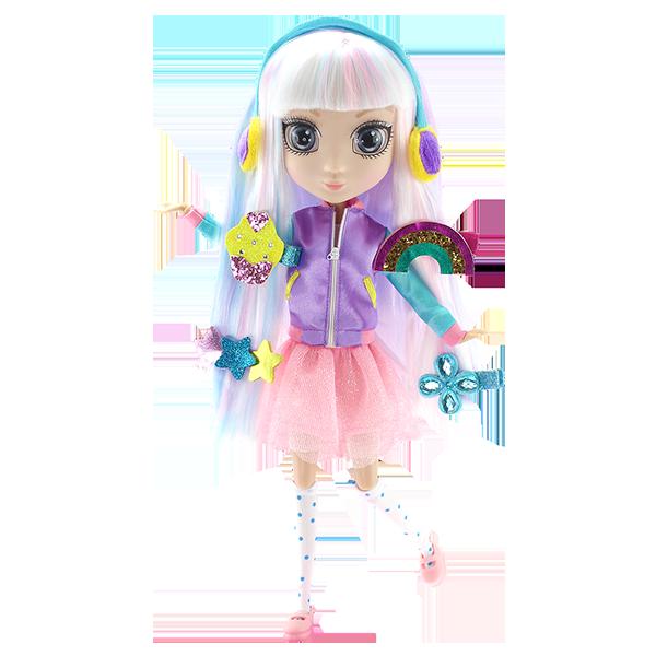 Shibajuku Girls HUN6619 Кукла Сури, 33 см кукла shibajuku girls коэ 33 см