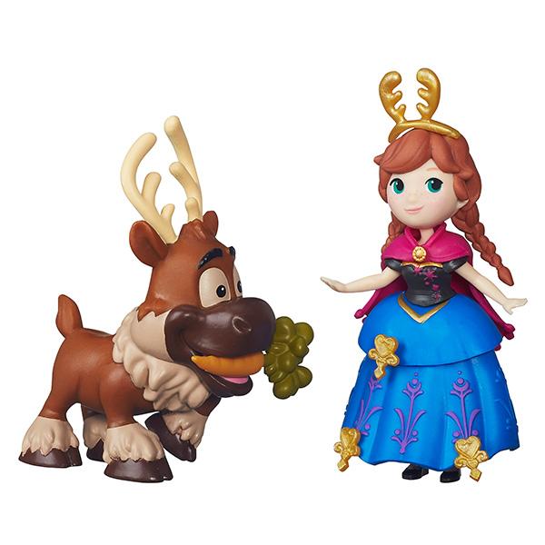 Hasbro Disney Princess B5185 Маленькие куклы Холодное сердце с другом (в ассортименте) набор посуды для детей stor холодное сердце олаф и свен